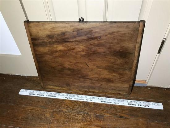 Antique Wooden Cutting Board