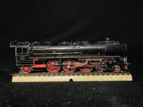 50's Marklin HO Model Railroad Locomotive Engine