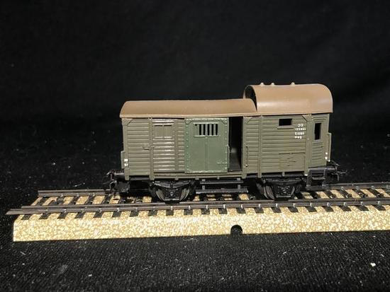50's Marklin HO Model Railroad Caboose Car Metal