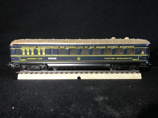 50's Marklin HO Model Railroad Dining Car Metal