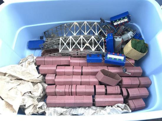 Lot of HO Marklin Bridge Truss Support etc Pieces