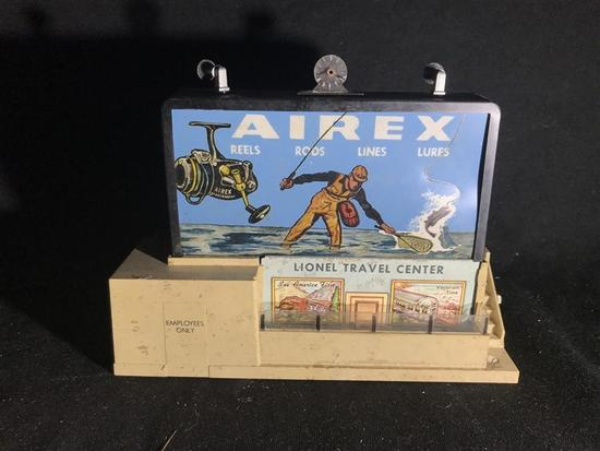 Lionel O Scale Airex Advertising Scenery Piece
