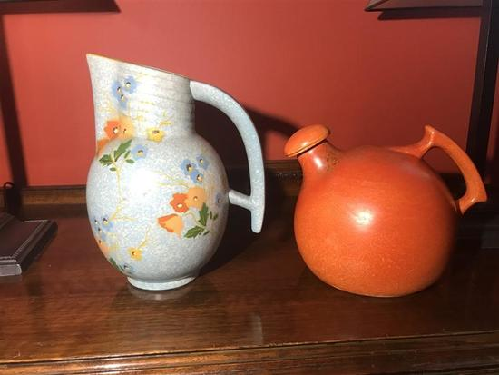 2 Vintage Ceramic Pieces Denham & RumRill