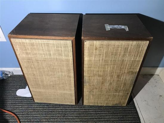 Pair Vintage Speakers Made in Denmark by Dynaco