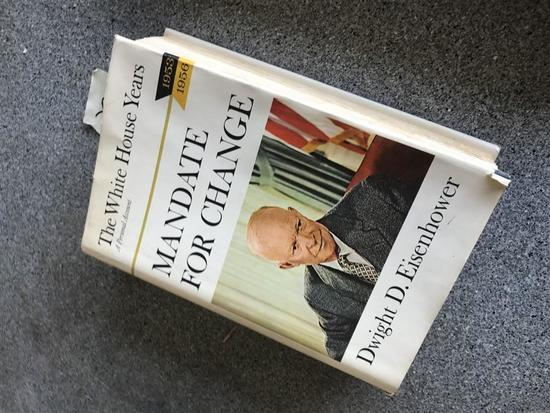 Mandate for Change Dwight D Eisenhower Book w/DJ