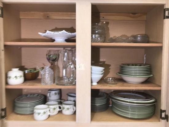 Cupboard Contents Lot