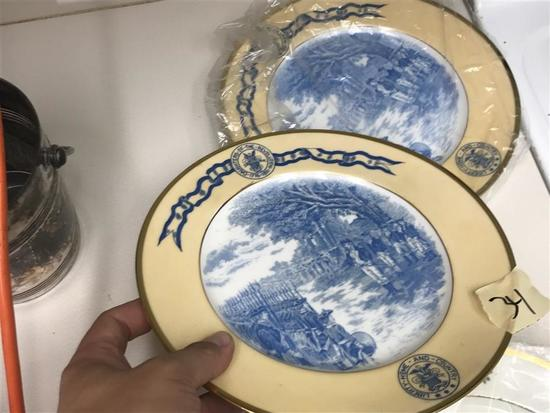 2 Plates 1905 Daughters of the American Revolution