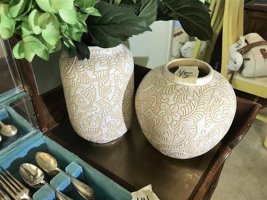 Two Decorative Vases
