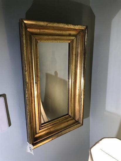 Vintage Gilt Wood Wooden Mirror