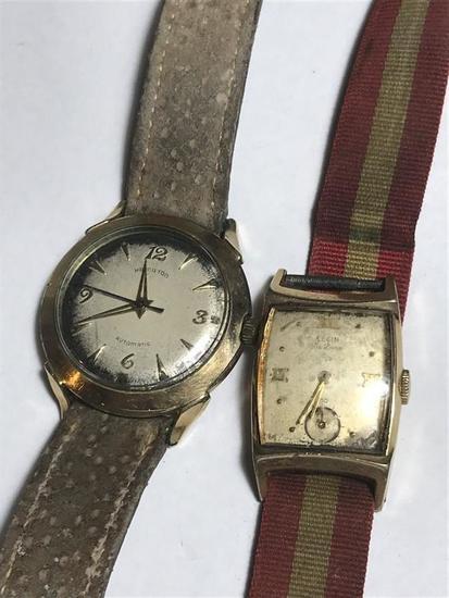 2 Vintage Watches Hamilton Elgin