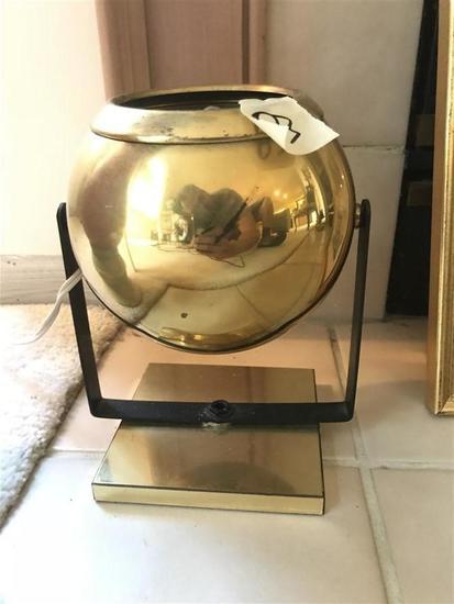 Unusual Design Small Lamp brass