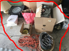 Group Lot Household Items, Extension Cord Etc