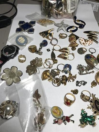 Group Lot Vintage Jewelry Inc. Sterling Silver