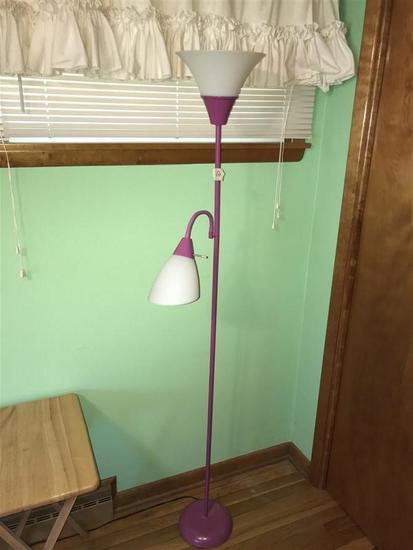 Floor Lamp in Purple