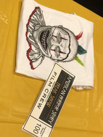 American Horror Story Shirt & Parking Pass