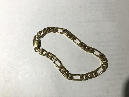14k Gold Bracelet 18.30 grams