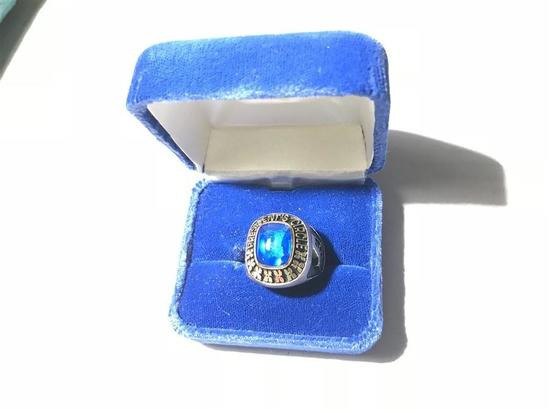 Heavy 10k Gold State Auto Company Ring 20.49 grams