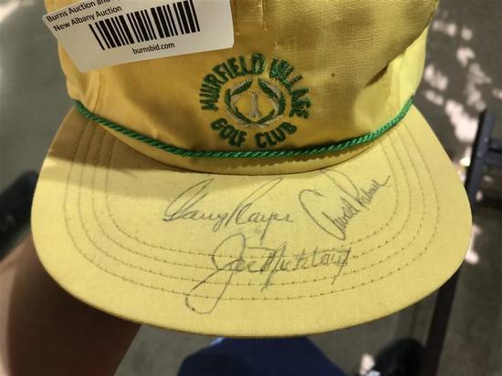 Muirfield Golf Hat w/Player, Palmer, Nicklaus sigs