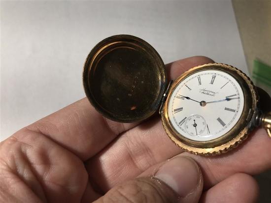 Fancy Case American Waltham Pocket Watch