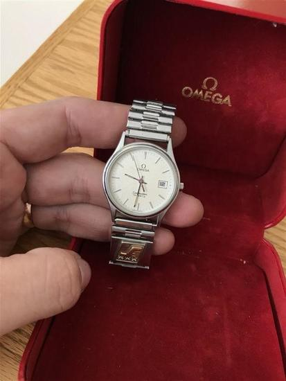 Vintage Omega Seamaster Watch in Box