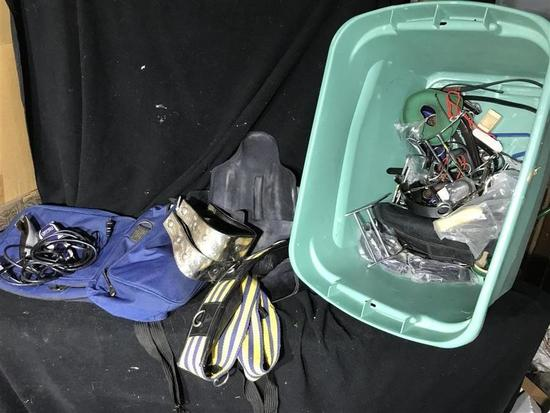 Lot of Horse Tack, Bits Related Items Etc