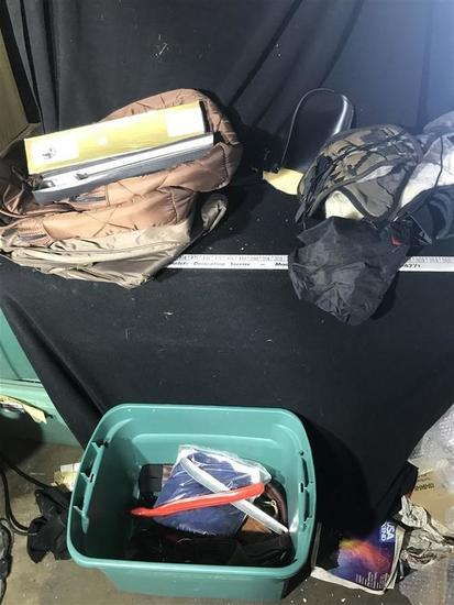 Forged Horse Tool, Tack, Blankets etc Lot
