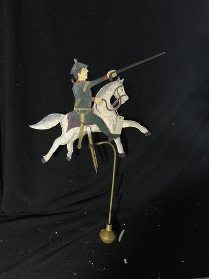 Unusual Rocking Toy Military Soldier Weighted End