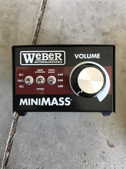 Weber Attenuators MiniMass Load Box for Guitar Amp