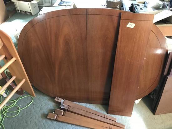 Vintage Wooden Table with Leave