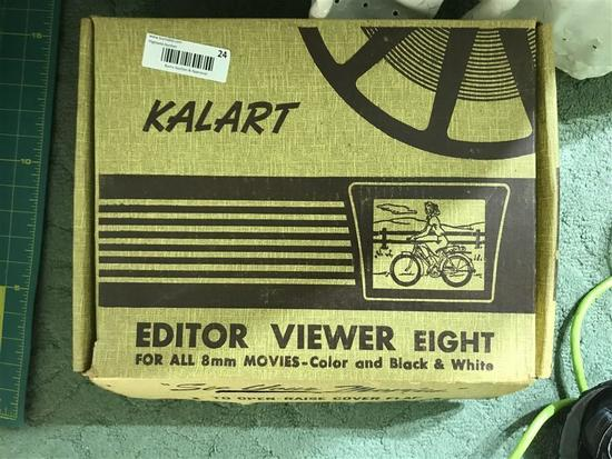 Kalart Editor Viewer for 8mm Film Movies