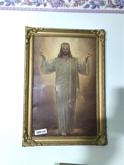Framed Picture of Jesus Christ