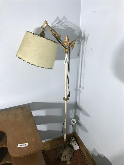 Antique Metal Stand Fancy Floor Lamp