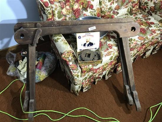 19th Century Quilt Stretcher Rack