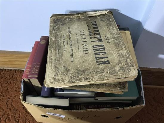 Box of Antique and Vintage Books