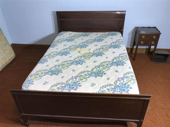 Vintage Full Sized Bed and Mattress