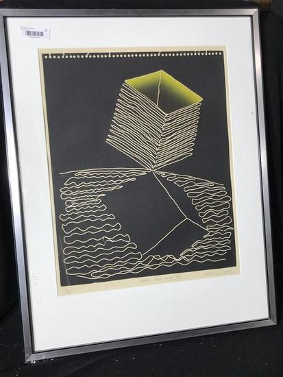 Vintage Ltd Edition Print Signed Yigal Zemer
