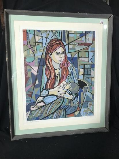 Vintage Limited Edition Print by Irving Amen 1978