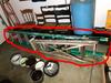 2 Ladders Inc. 7' Extension Ladder + Vintage Wood