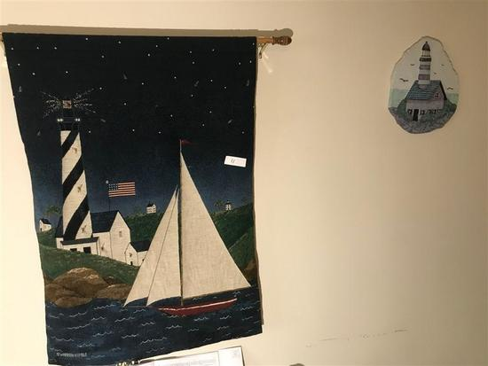 Nautical Decorative Items on Wall