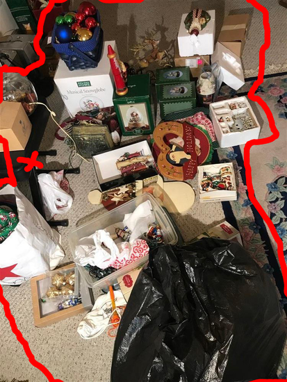 Group Lot of assorted Christmas items
