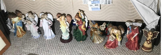 Group Lot of Decorative Angels