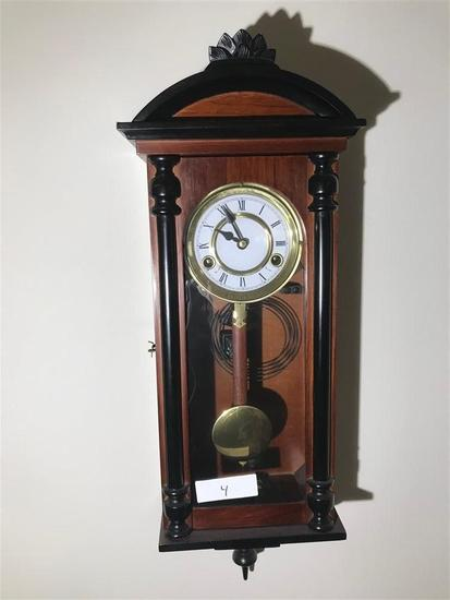 Wind up Wall Clock w/Chime