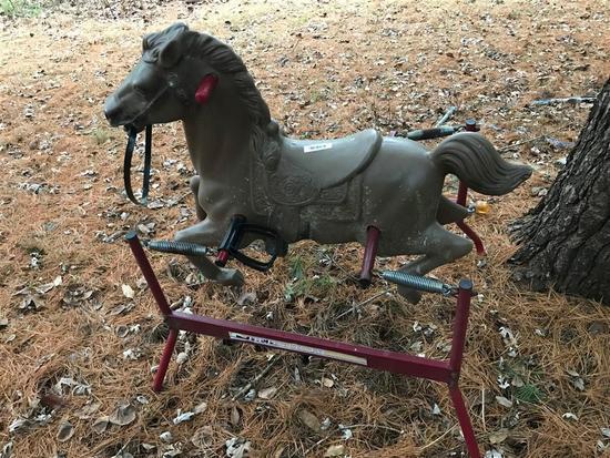Vintage Bouncy Play Horse