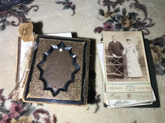 Group Lot Early Tintypes, Cabinet Cards, CDVs