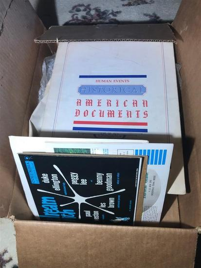 Box of Early Records, American Documents etc