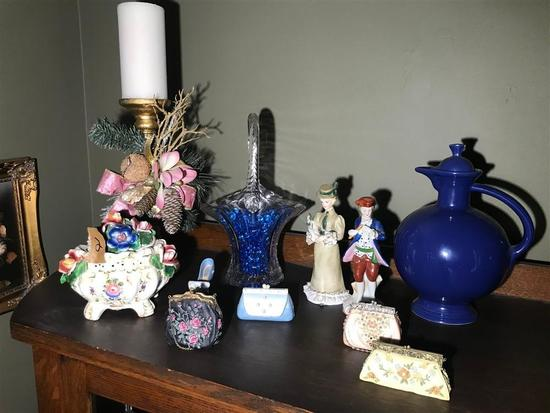 Group Lot assorted China, Glass items