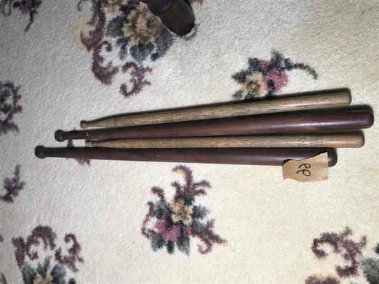2 Pairs Antique Snare Drum Sticks