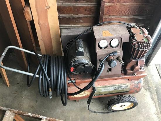 Vintage Craftsman Air Compressor