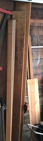 Several Pieces of Nicer Vintage Wood