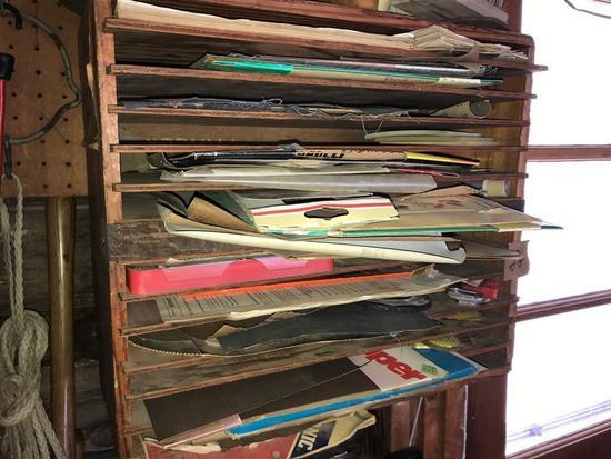 Large Sorter Cupboard Lot of Sandpaper - many pcs